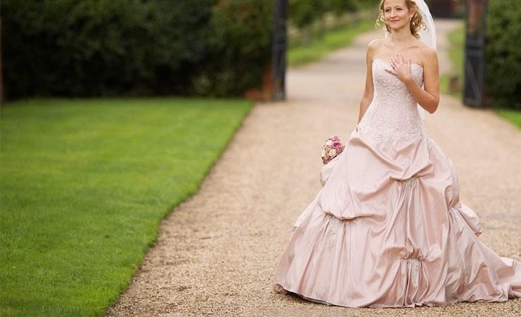 Criss Cross Flower Appliqué Pink Homecoming Dress