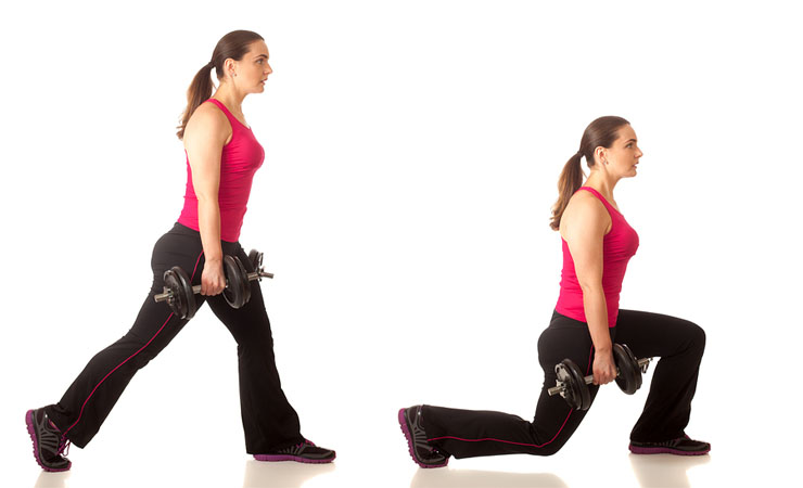 Start Doing Your Lunges