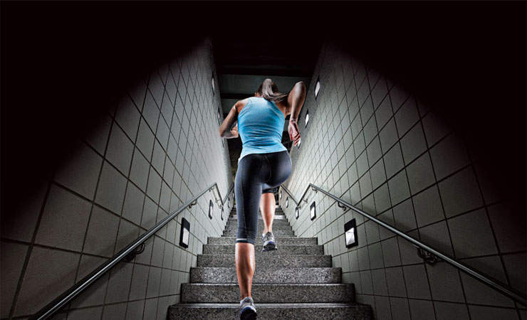 RUN THROUGH THE STAIRS