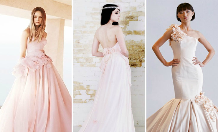 Strapless Pink Prom Dress Adorned with a Jeweled Bodice by Da Vinci