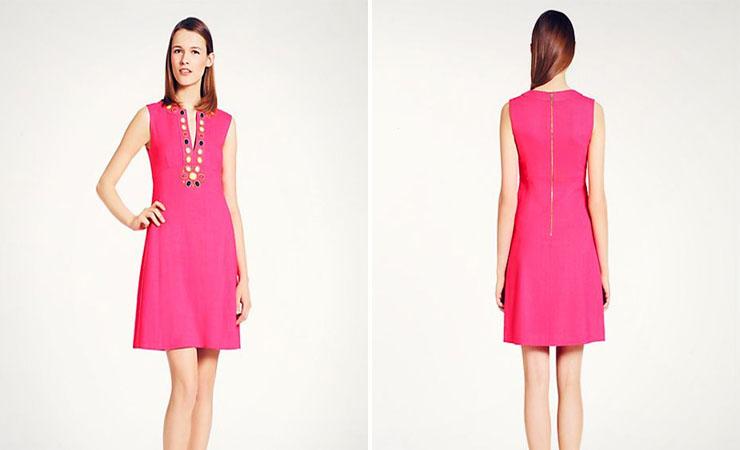 Short Strapless Sequin Pink Homecoming Dress