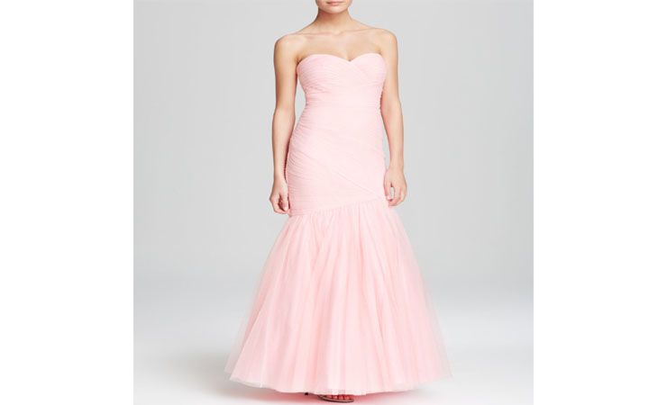 Lace with Belt Light Pink Homecoming Dress