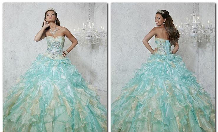 Tiana's Disney Lace Flower Girl Dress