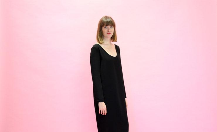 Valerie Dress in Black - Plus Size