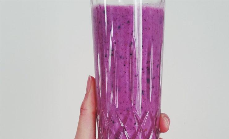 Blueberry-Cabbage Juice