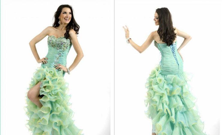 Sleeveless Empire Waist Cheap Maternity Maxi Dress