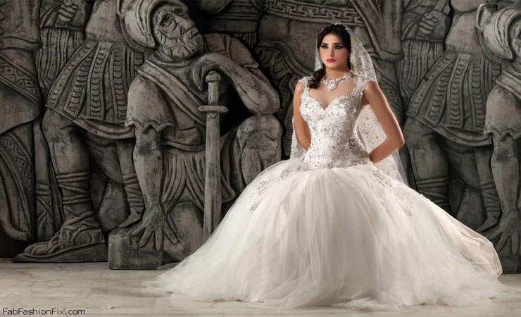 Timeless Radiance Shimmering Ball Gown Wedding Dress