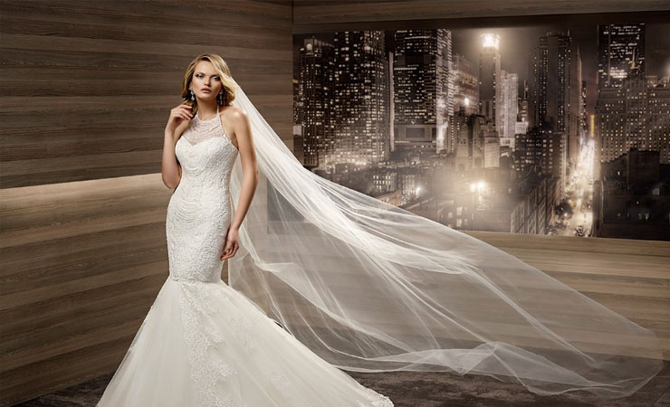 Two-piece Strapless Ruched Sweep Train Camo Wedding Dress