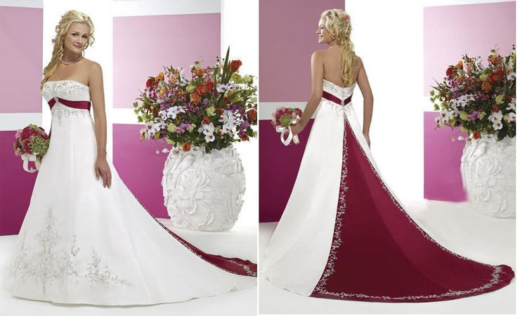 Glittering Charm Empire Ball Gown Wedding Dress