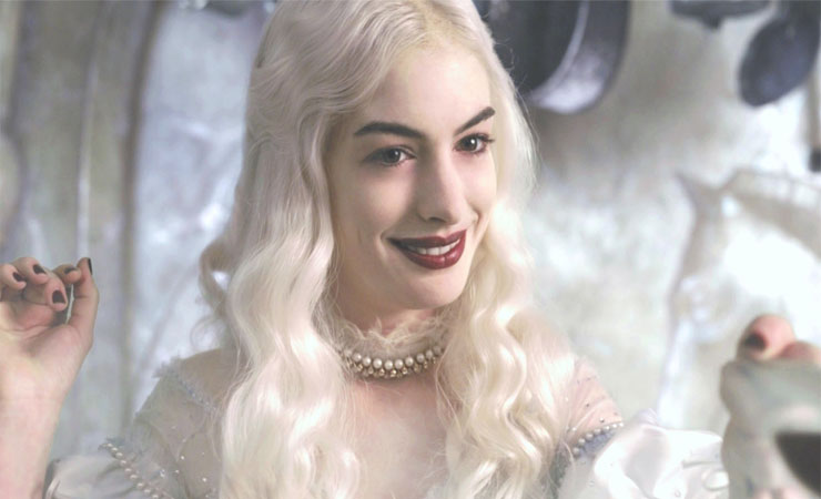 Anne Hathaway as White Queen