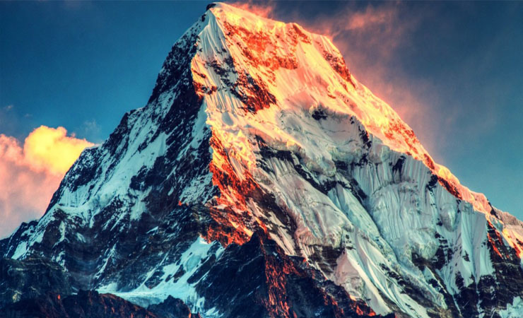 Mount Everest is the Tallest Mountain on Earth