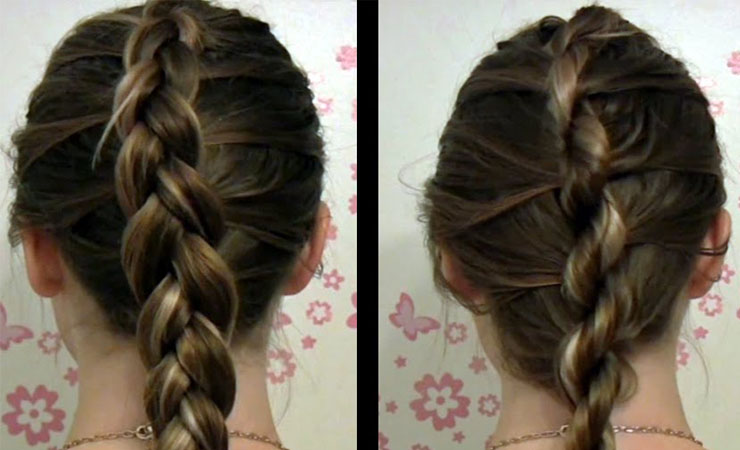 Twists and French Braid Style